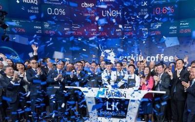 瑞幸咖啡成功登陆纳斯达克 创造全球最快IPO公司纪录