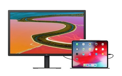 苹果推新款LG UltraFine 4K显示器 23.7英寸屏5356元
