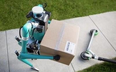 快递员尴尬了 福特联合Agility Robotics开发送货机器人