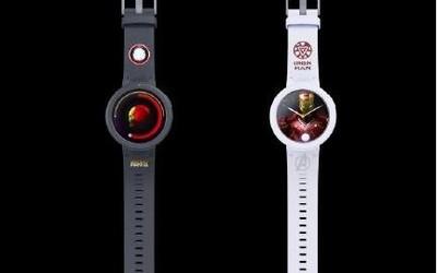 华米漫威定制手表真机曝光:情怀满分粉丝们了解一下