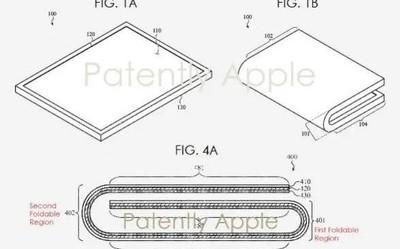 苹果折叠屏专利公布 手机平板二合一/或在2020年推出