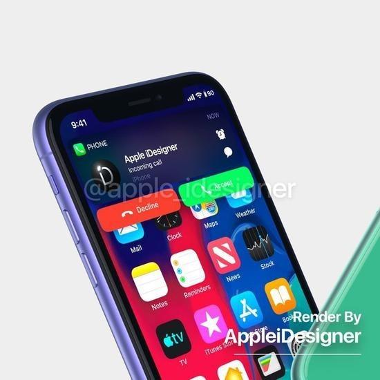 "iPhone XR二代再曝渲染图:""浴霸""摄像头基本实锤了"
