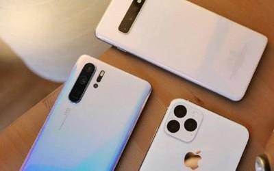 华为P30 Pro、三星S10+外观对比iPhone 2019 谁更美