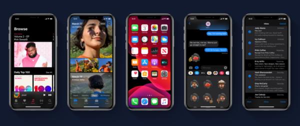 iOS 13黑暗模式