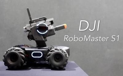 """大疆发布机甲大师RoboMaster S1 可编程""""坦克战车"""""""