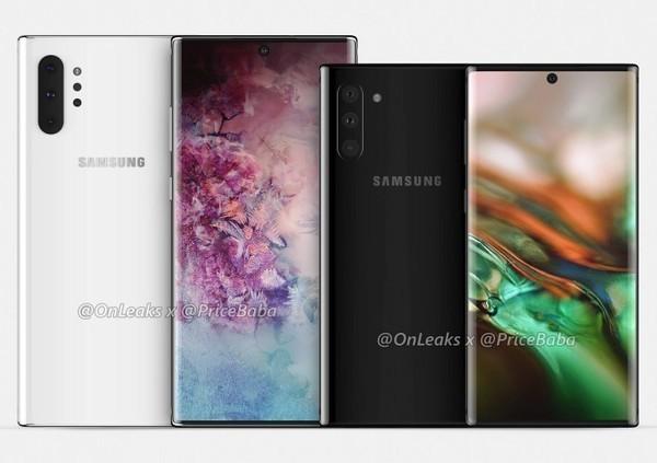 三星Note10与三星Note10 Pro(图源外媒)