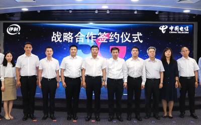 牌照发放后 中国电信携手伊利促进¡°5G+智慧乳业¡±发展