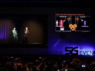 千里來相會 中興聯合Orange展示5G全息投影視頻通話