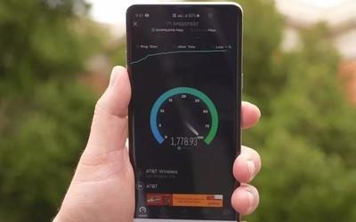 AT&T 5G网速测试 平均速度超1.4Gbps 最高达到1.7!