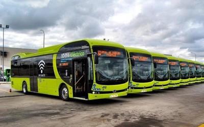 比亚迪向葡萄牙交付8辆12米纯电动大巴 开拓南欧市场