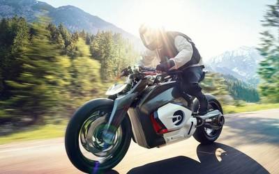 宝马首款电动摩托车发布 Vision DC Roadster高清图赏