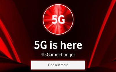 英国运营商沃达丰公布5G资费 网速2Mbps月费超百元