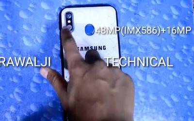 三星Galaxy M60真机上手 4800万双摄还有背部指纹