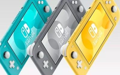Nintendo Switch Lite发布9月20开卖 更便携也更便宜
