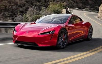 车屁股上装火箭推进器 特斯拉新款Roadster要上天?
