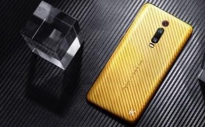 Redmi K20 Pro纯金镶钻土豪版已发 售价约48000元