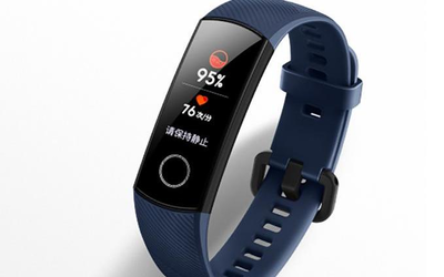 荣耀手环5开启预售 血氧检测让生活更健康/或售299