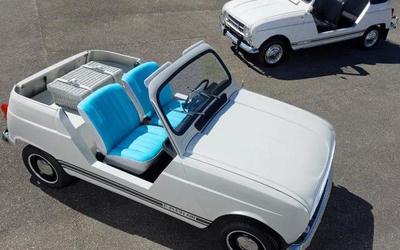 既复古,又新潮!雷诺发布全新e-Plein Air纯电汽车