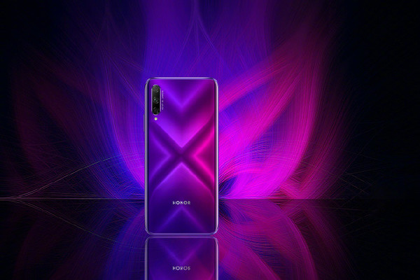 59英寸全面屏,采用3d幻变玻璃机身设计,提供幻夜黑,幻影紫两种配色;并