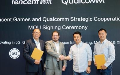 Qualcomm宣布与腾讯游戏达成战略合作