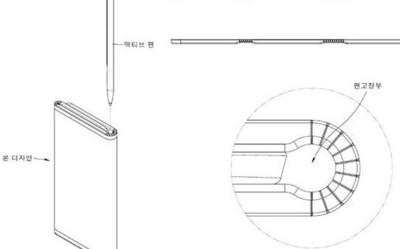 """LG全新折叠屏专利曝光:""""书夹笔""""一秒回到大学时代"""