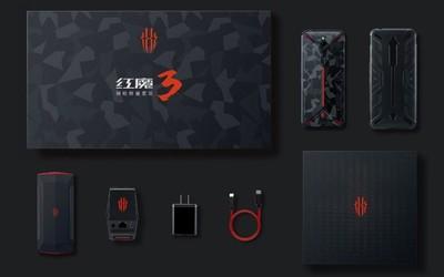 ChinaJoy游戲手機標桿 紅魔3鋼槍版限量套裝正式發布