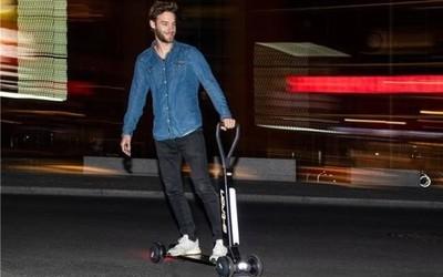 奥迪推出e-tron电动滑板车 明年上市/售价约1.5万元