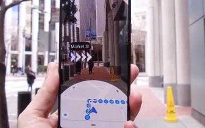 路痴的福音 谷歌地图AR实景导航Live View正式上线