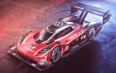 大众发布纯电动赛车ID.R全新涂装 9月挑战中国天门山