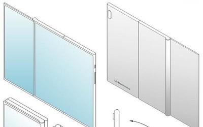 """LG""""屏風""""折疊屏專利現身:兩塊屏幕電池表示鴨梨很大"""