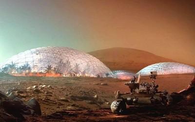 """马斯克开始琢磨在""""火星造城""""了 最多要花10万亿美元"""