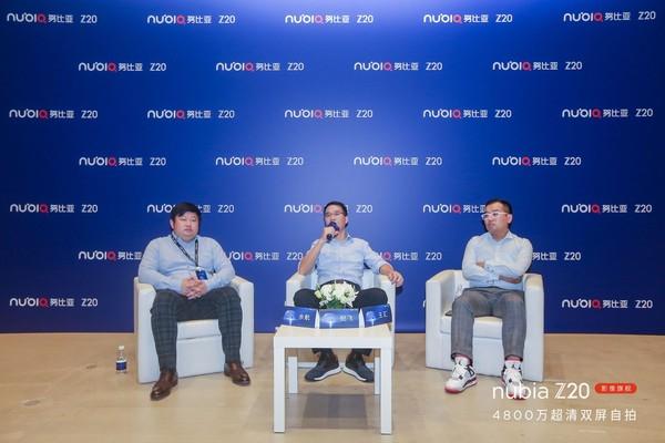 努比亚倪飞:努比亚Z20的双屏设计基于对未来的探索