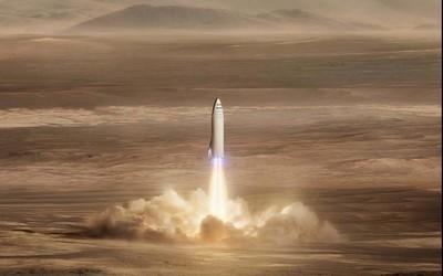 "SpaceX""星虫""飞船将开始最高跳跃测试 高达200米"