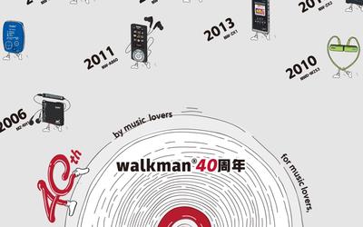 索尼WALKMAN 40周年专题上线 青春回忆 经典不褪色