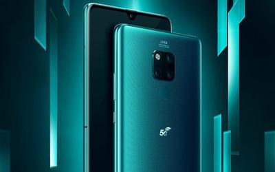 华为Mate 20 X (5G)今日首销 率先开启5G双模手机时代