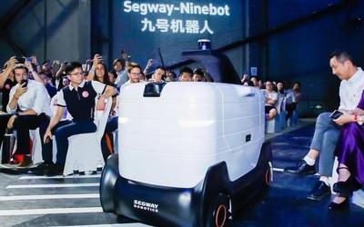 九号机器人发智能服务场景解决方案 解决最后一公里