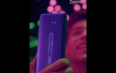 OPPO Reno 2真机视频曝光 后置四摄20倍变焦强不强?