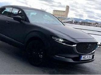 疑似马自达首款电动SUV谍照 定位紧凑型/2020年推出
