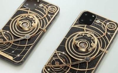 iPhone 11太空定制版渲染图 完整太阳系设计极尽奢华
