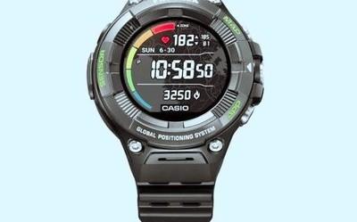 新款卡西欧Pro TREK智能手表发布 新增心率侦测功能