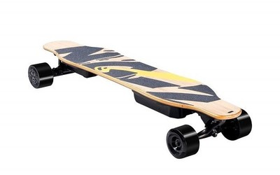 SWAGTRON推出NG2电动长滑板 可用AI体感控制移动