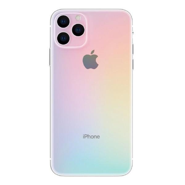 渐变色的iPhone(图源微博)