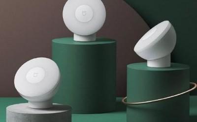 米家夜灯2开启众筹 360度磁吸旋转光/众筹价99元3个