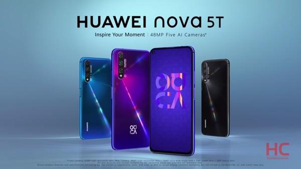 華為nova 5T(圖取自huaweicentral)