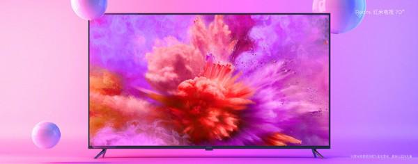 红米电视70寸首批备货已预订一空 目标每月卖6-8万台