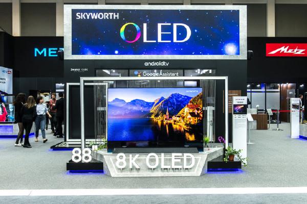 創維S81自發光智能電視和全透明OLED電視亮相IFA