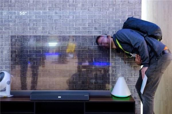 创维全透明OLED电视