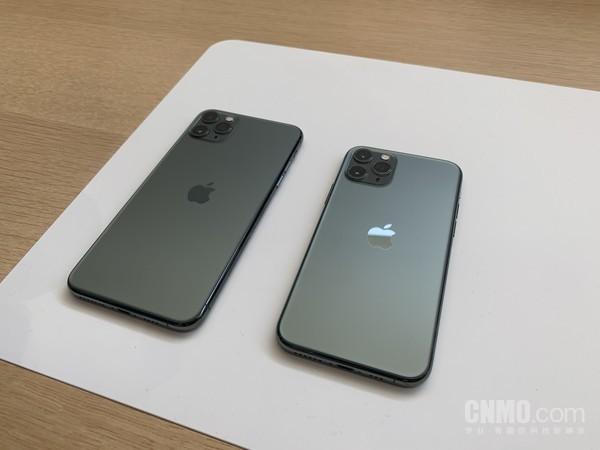 iPhone 11 Pro和iPhone 11 Pro Max