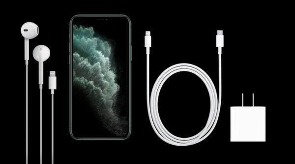 iPhone 11 Pro系列标配18W USB-C快充头