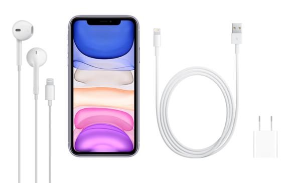 iPhone 11仍配备5W充电头